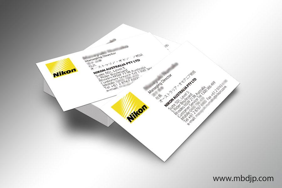 Nikon名刺制作