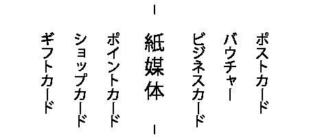 ビジネスカード・ポイントカード・ショップカード制作