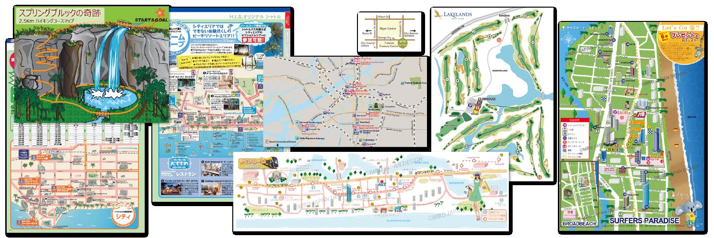 地図制作の実例